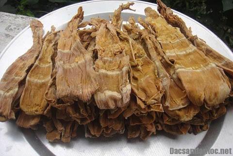 mang luoi lon - Măng lưỡi lợn khô