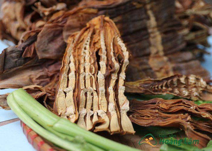 mang nua - Măng nứa khô