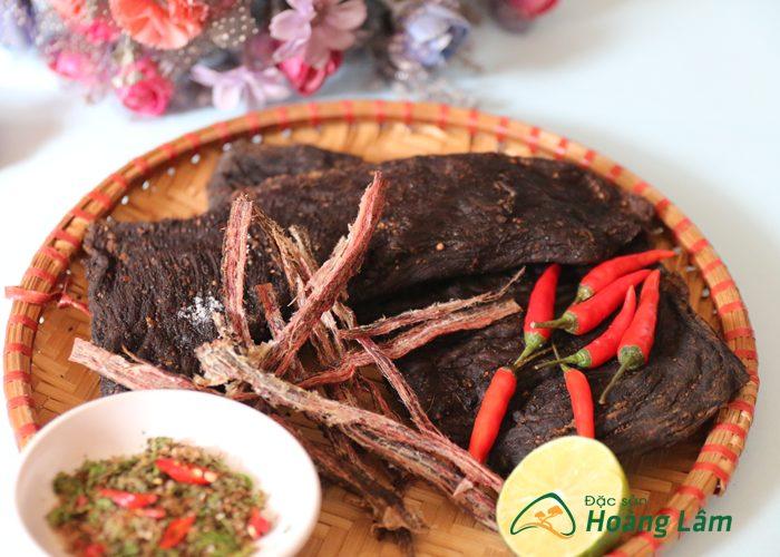 thit kho gac bep ngon 4 - 2kg Thịt trâu khô gác bếp