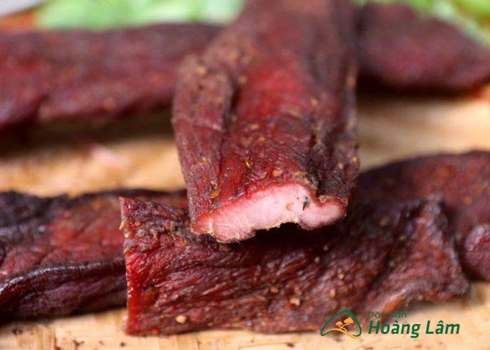 thit lon gac bep ngon 1 - 2kg Thịt lợn khô gác bếp