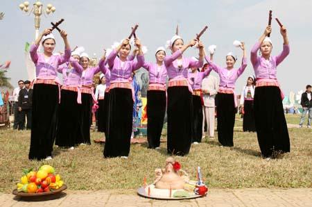 le hoi hoa binh - Lễ hội cốm mới của các dân tộc vùng cao