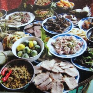 mam co tet nguoi thai 300x300 - Lễ hội cốm mới của các dân tộc vùng cao