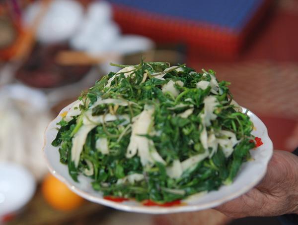 rau rung tay bac - Những món rau rừng đỉnh nhất vùng Tây Bắc