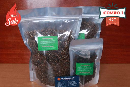 combo 1 gia vi moi - 2kg Hạt mắc mật khô