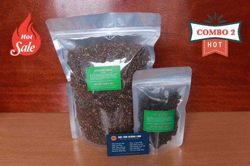 combo 2 gia vi moi - 2kg Hạt mắc mật khô