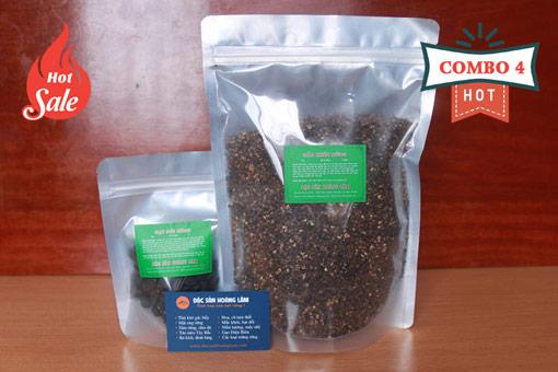 combo 4 gia vi moi - 2kg Hạt mắc mật khô