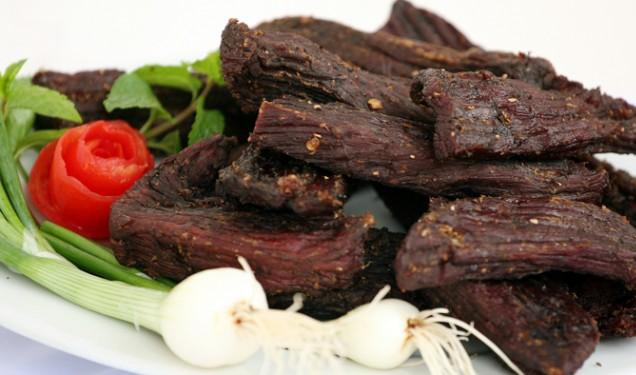THỊT BÒ - Thịt bò gác bếp chuẩn Tây Bắc loại đặc biệt