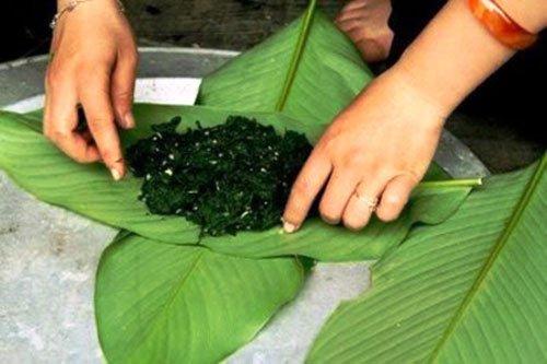 wmm1389669914 - Độc đáo đặc sản rêu đá của người Thái